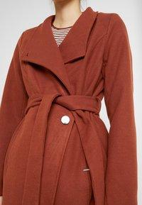 b.young - CIRLINE JACKET BELT - Zimní kabát - dark copper - 5