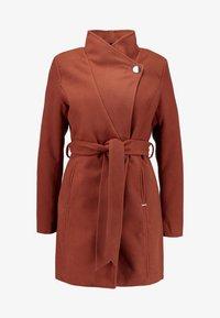 b.young - CIRLINE JACKET BELT - Zimní kabát - dark copper - 4