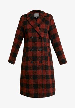 BYARIANA COAT - Zimní kabát - dark copper combi
