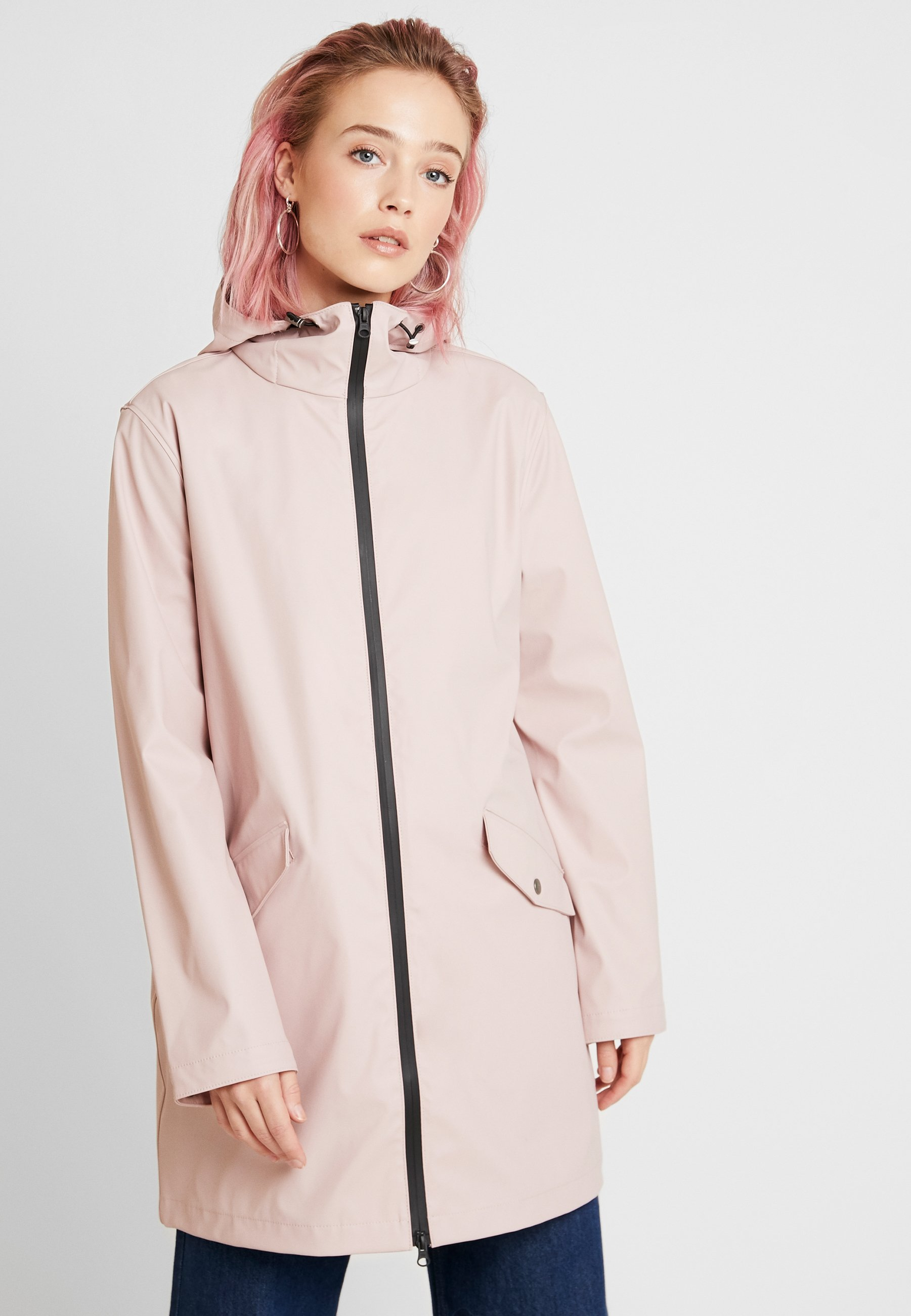 b.young BYAVA RAIN COAT - Parka - rose cloud