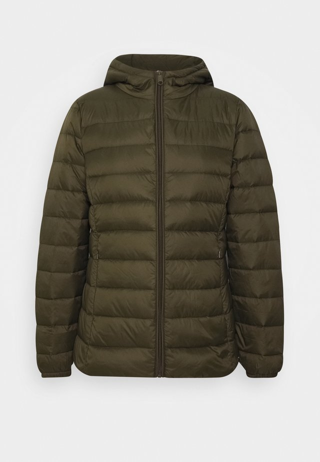 BYIBICO JACKET - Down jacket - olive night