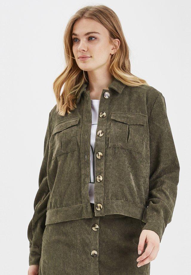 Summer jacket - sea green