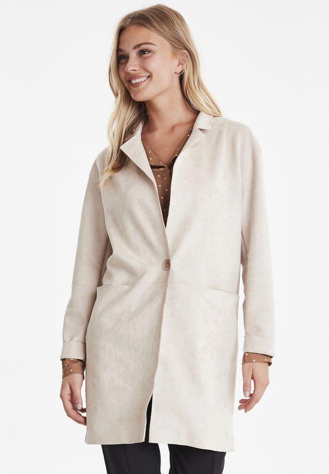 BYCHILLA COAT - OUTERWEAR - Short coat - beige