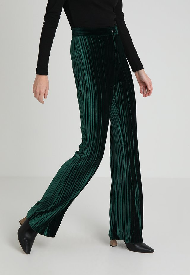 GLORIA PANTS - Bukser - pine green