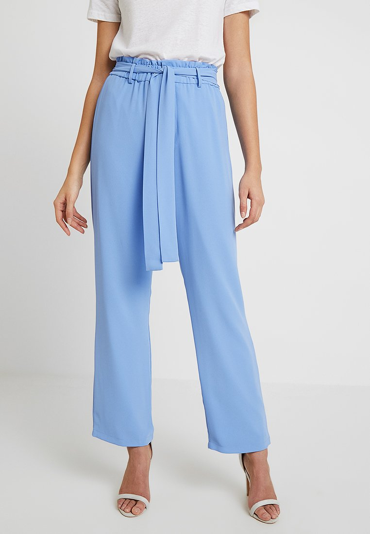 By Malina - HAILEY PANTS - Tygbyxor - miami blue