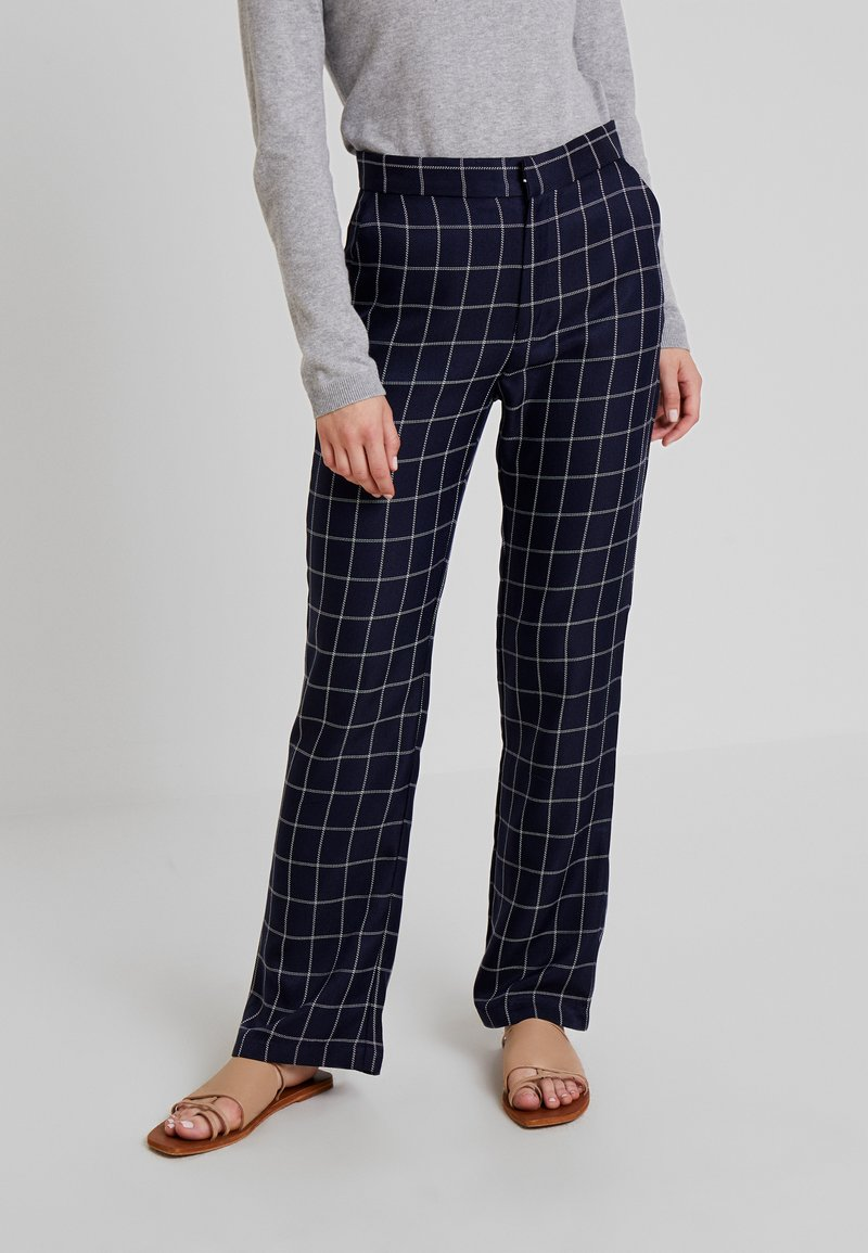 By Malina - ROSETTA PANTS - Trousers - inc blue