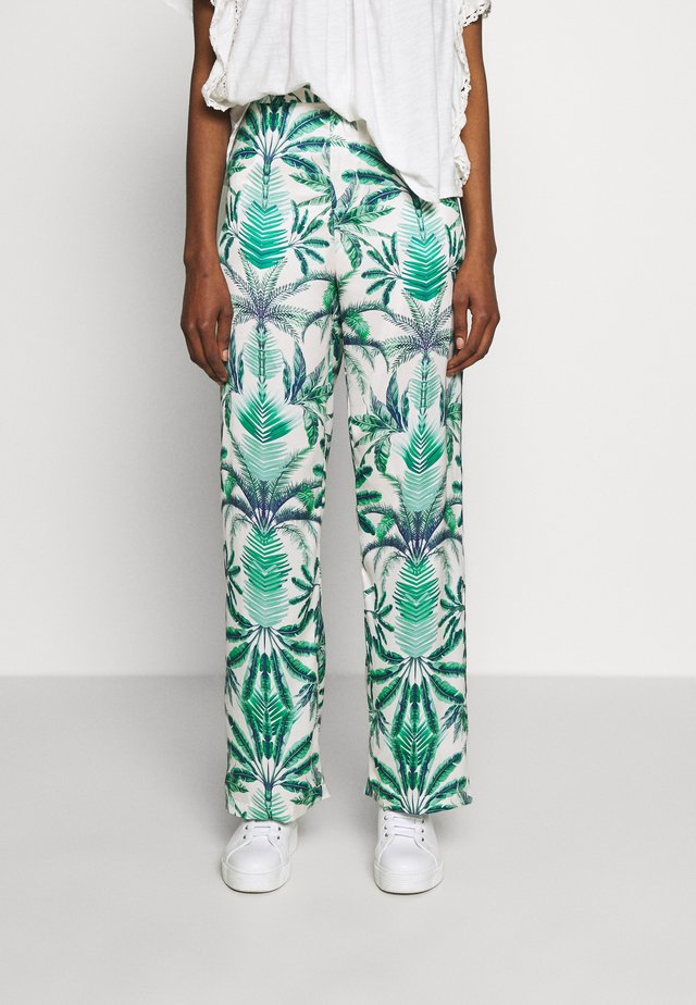 MANDIE PANTS - Stoffhose - beneath the palms