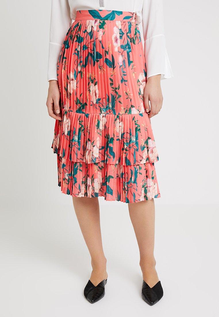 By Malina - ANABELLE SKIRT - Plisovaná sukně - daiquiri rose
