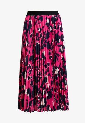 ELENA SKIRT - Spódnica trapezowa - shadow garden pink