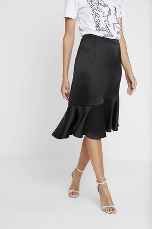 ELLIE SKIRT - A-lijn rok - black