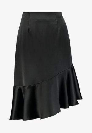 ELLIE SKIRT - Jupe trapèze - black