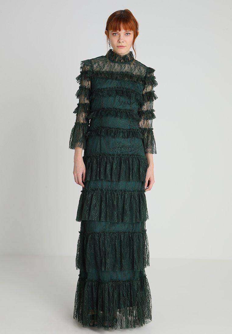 By Malina - CARMINE DRESS - Iltapuku - pine green
