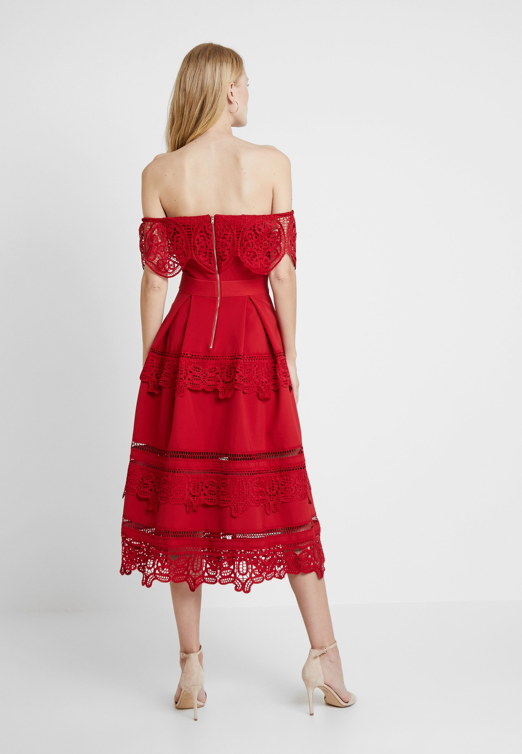 De Red Cocktail By Othelia Malina DressRobe LAjR35q4