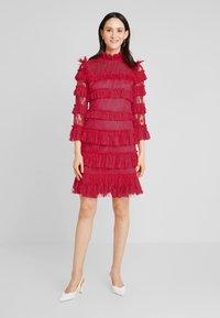 By Malina - CARMINE DRESS - Cocktailklänning - red - 2
