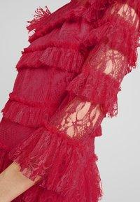 By Malina - CARMINE DRESS - Cocktailklänning - red - 6
