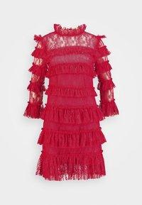 By Malina - CARMINE DRESS - Cocktailklänning - red - 5