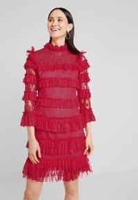 By Malina - CARMINE DRESS - Cocktailklänning - red - 0