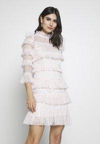By Malina - CARMINE DRESS - Cocktailklänning - pink - 0