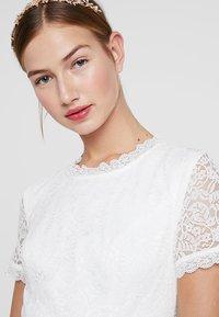 By Malina - CLAIRE DRESS - Abito da sera - white - 4