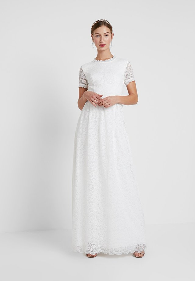 CLAIRE DRESS - Gallakjole - white