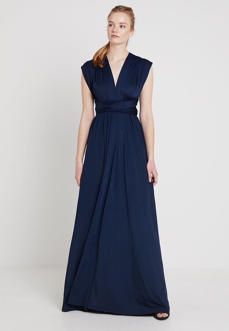 By Malina - LOLA WRAP DRESS - Abito da sera - dark blue