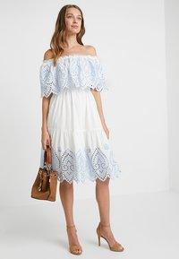 By Malina - LAYLA DRESS - Vestito estivo - ocean blue - 1