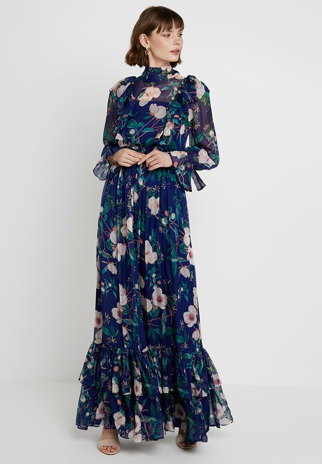 AVA DRESS - Suknia balowa - azure/rose