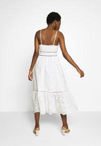 By Malina - SUMMER DRESS - Denní šaty - white - 2