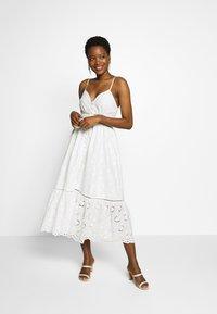 By Malina - SUMMER DRESS - Denní šaty - white - 0