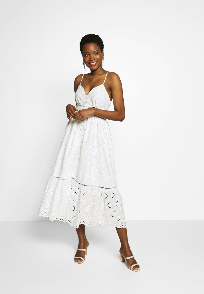 By Malina - SUMMER DRESS - Denní šaty - white