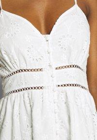 By Malina - SUMMER DRESS - Denní šaty - white - 4