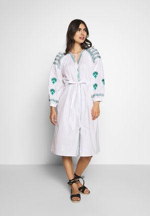 RILEY DRESS - Shirt dress - white