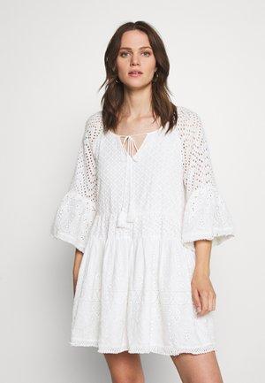 FLEUR DRESS - Korte jurk - white