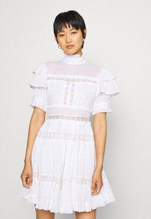 IRO DRESS - Korte jurk - white