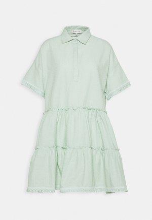ESTHER DRESS - Shirt dress - green mist