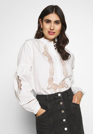 AMIRA BLOUSE - Bluzka - white