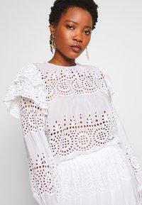By Malina - MARTA BLOUSE - Bluse - white - 4