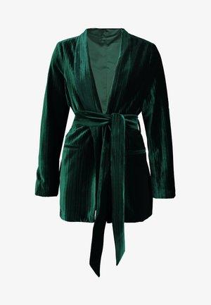 ERIN - Blazer - pine green
