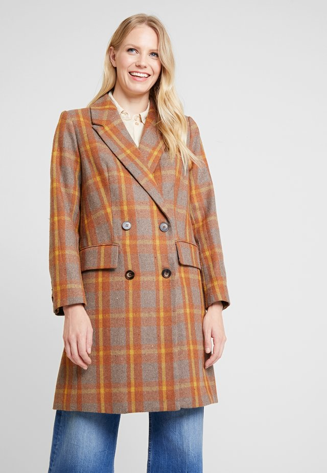 ELLEN COAT - Wollmantel/klassischer Mantel - spiced honey