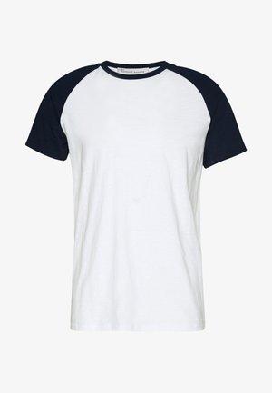 UNISEX SVEN - Print T-shirt - navy blazer