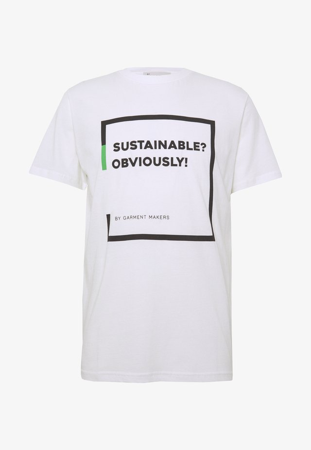 UNISEX RAY - T-Shirt print - white