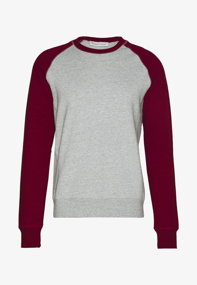 UNISEX JAMES - Sweatshirt - merlot