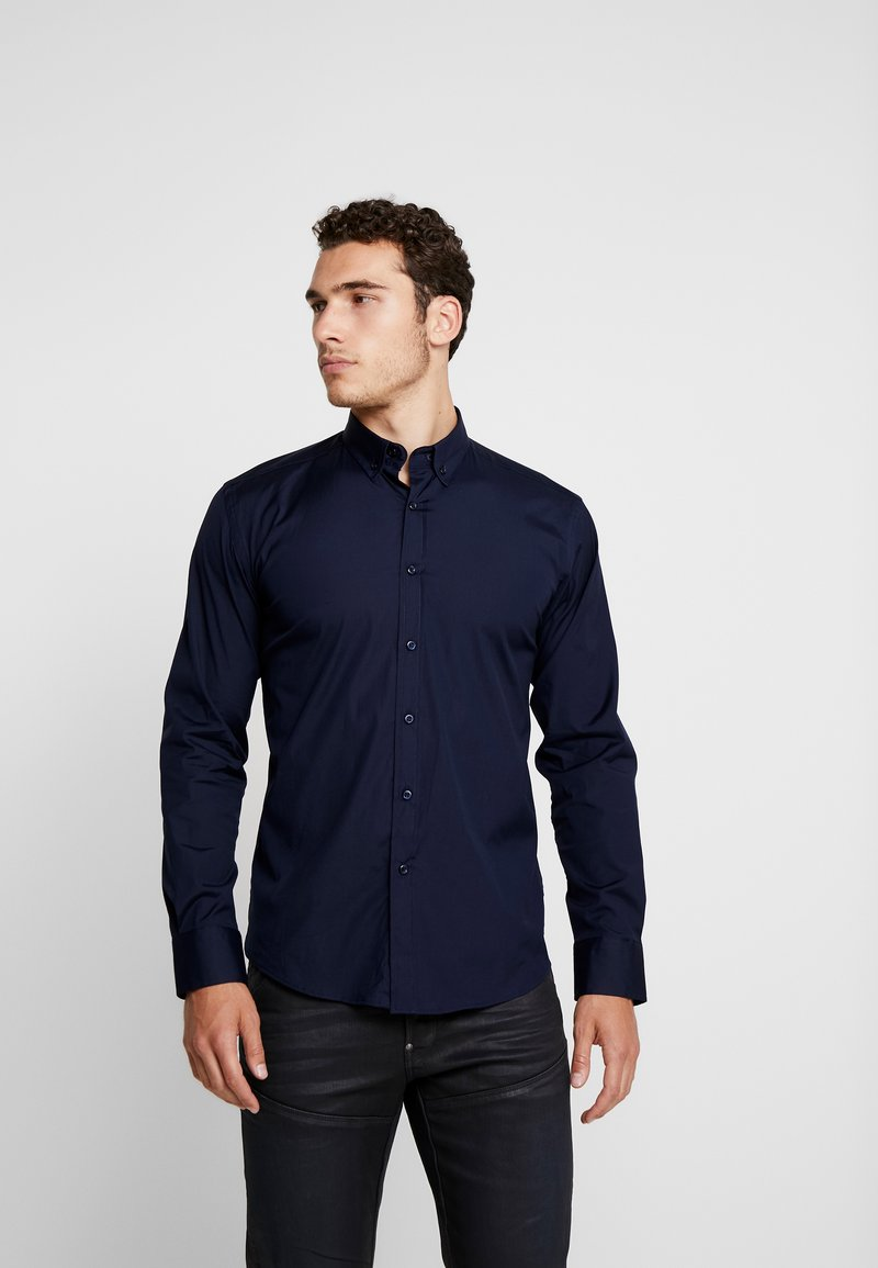 BY GARMENT MAKERS - THE ORGANIC SHIRT - Shirt - dark blue