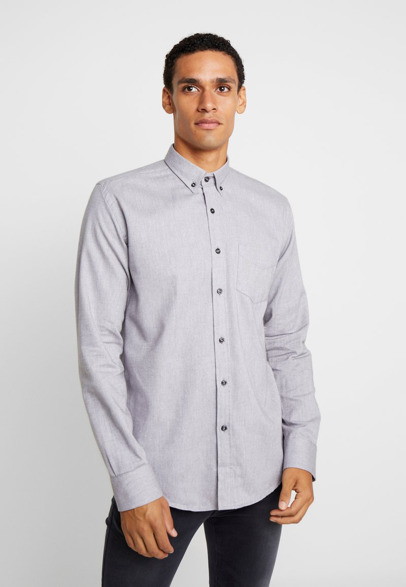 BY GARMENT MAKERS - THE ORGANIC  - Hemd - antracite