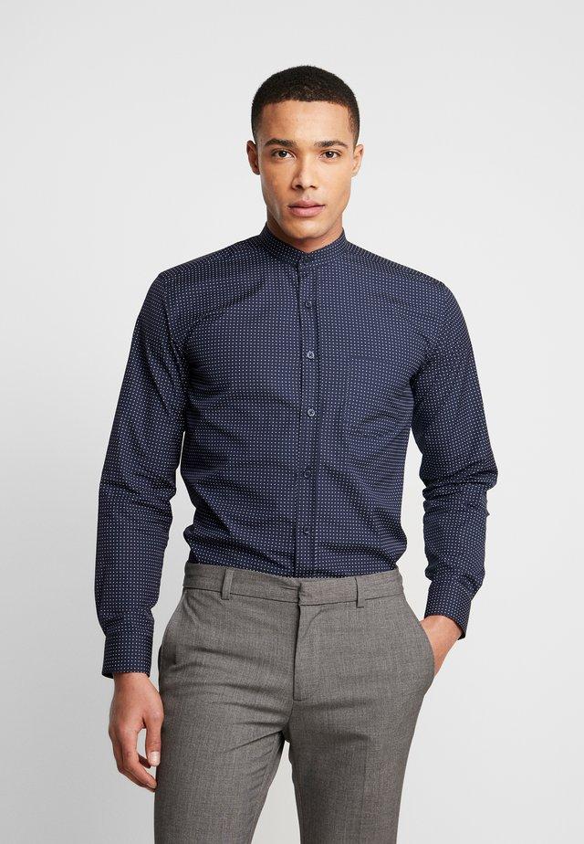THE PRINTED WITH MAO COLLAR - Skjorter - navy blazer