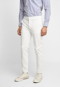 BY GARMENT MAKERS - THE PANTS - Chino kalhoty - marshmallow - 0
