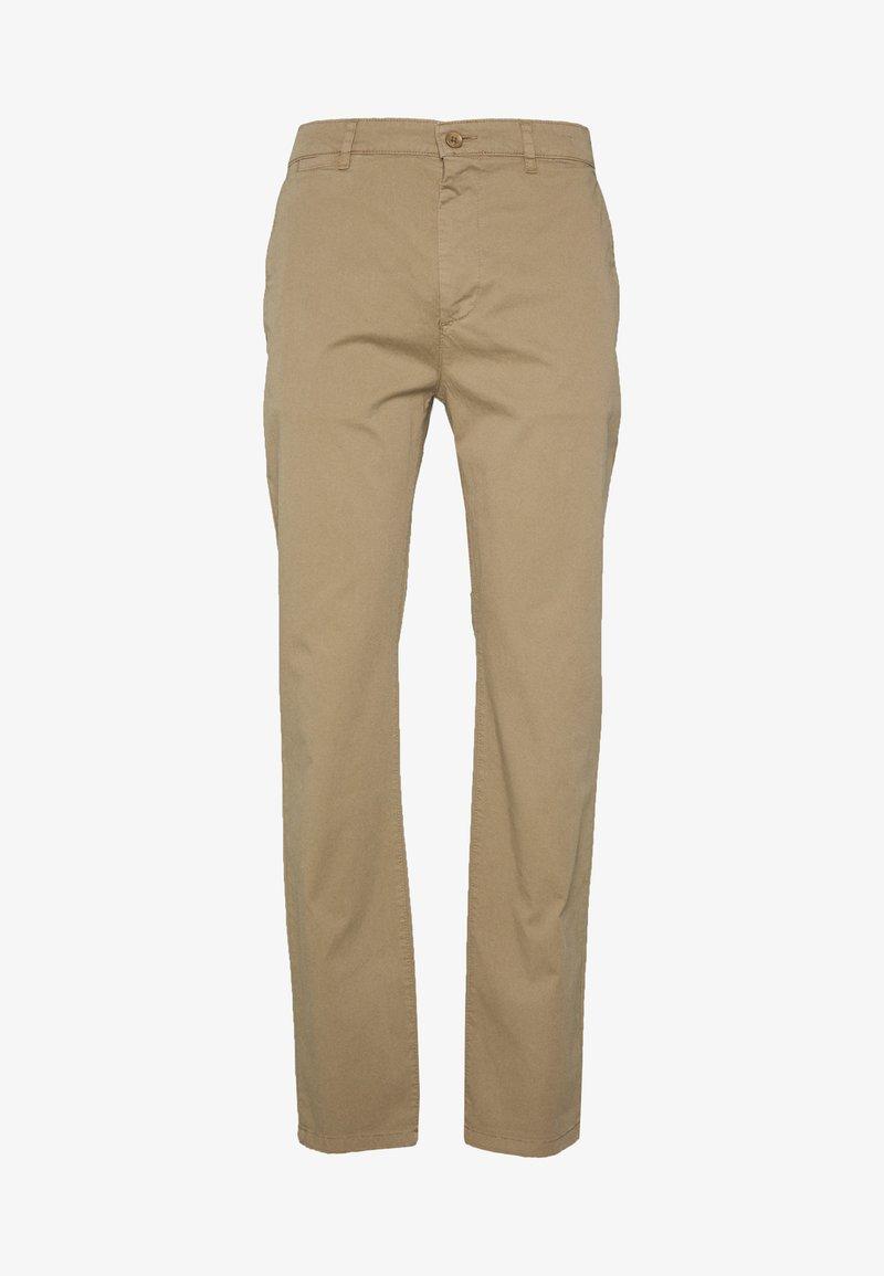 BY GARMENT MAKERS - THE PANTS - Chino kalhoty - khaki