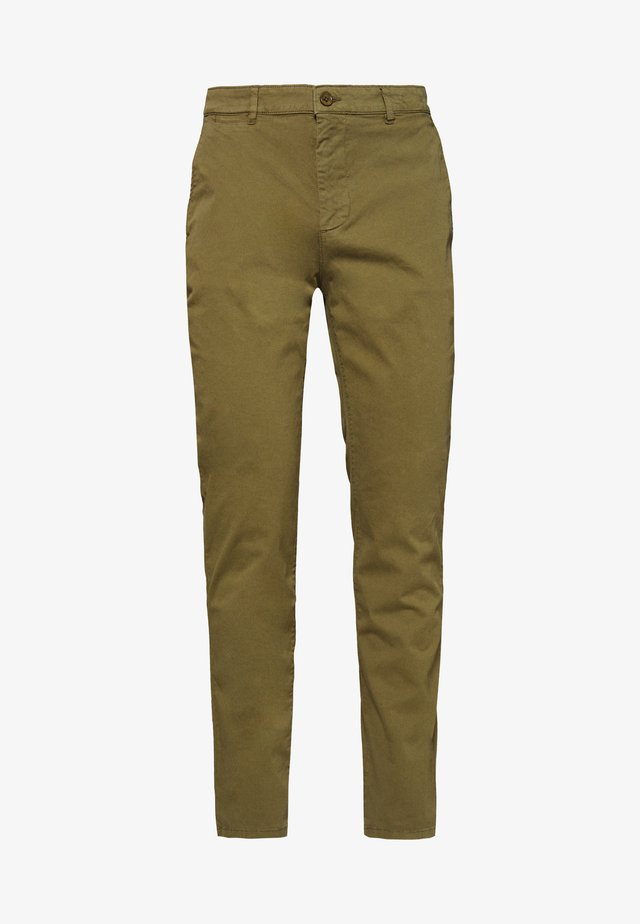 THE PANTS - Chino - oil green