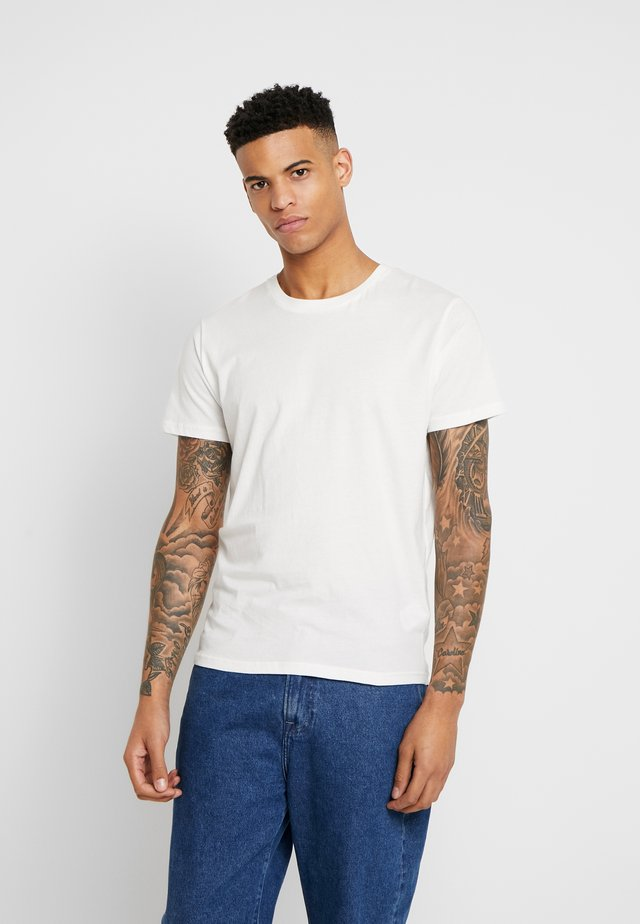 THE ORGANIC TEE BASIC - T-shirt basic - marshmallow