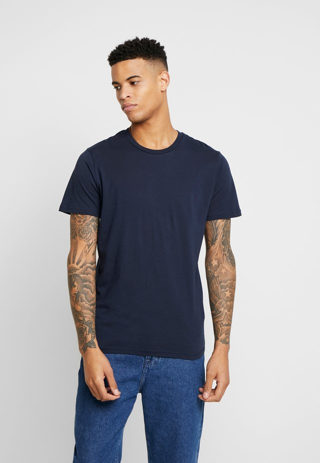THE ORGANIC TEE BASIC - T-shirts - navy blazer